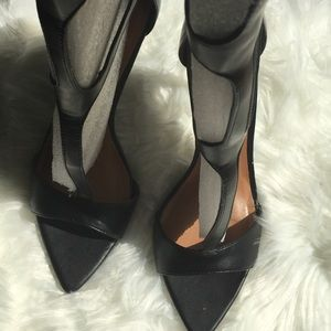 Nasty Gal Stiletto Toe Gladiator heels size 9